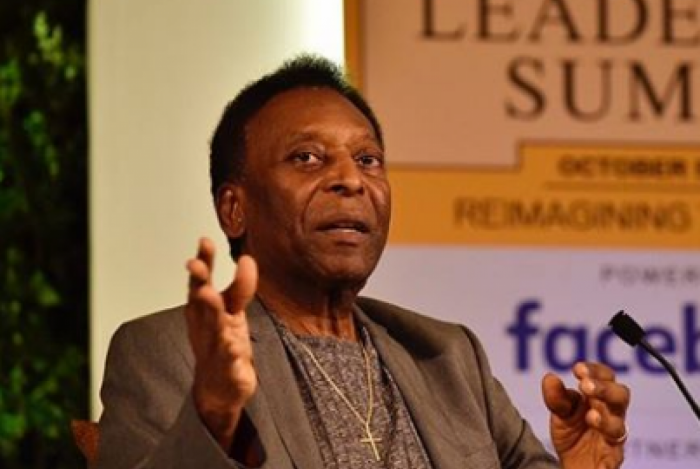 Pelé fala sobre seleção brasileira e seu estado de saúde