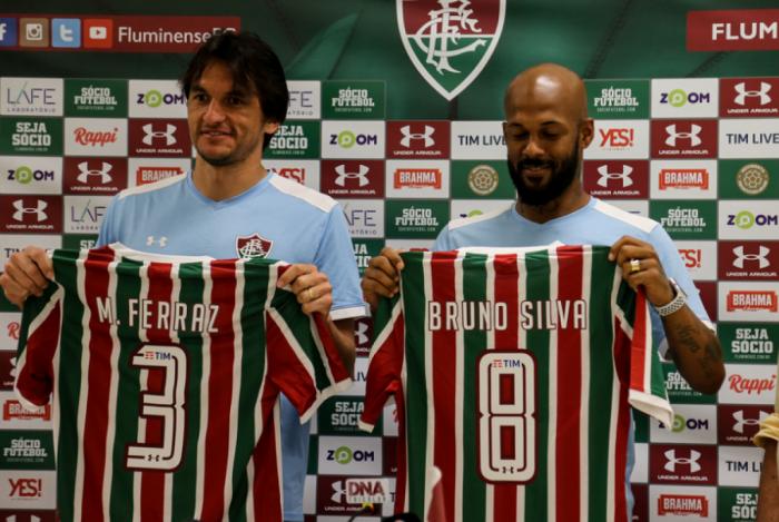 Matheus Ferraz e Bruno Silva foram apresentados