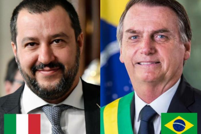 Salvini ligou para Bolsonaro para agradecê-lo por sua atuação na prisão de Battisti