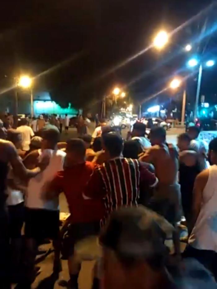 Torcedores entraram em confronto após clássico no Maracanã
