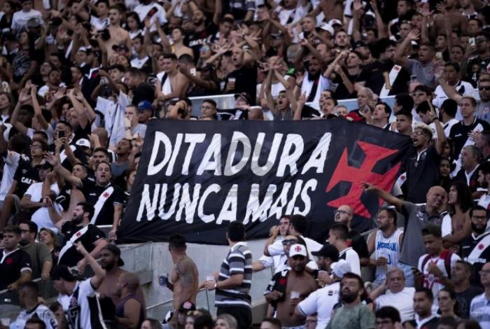 Apenas Vasco, Corinthians e Bahia publicaram algo relacionado aos 55 anos da Ditadura Militar