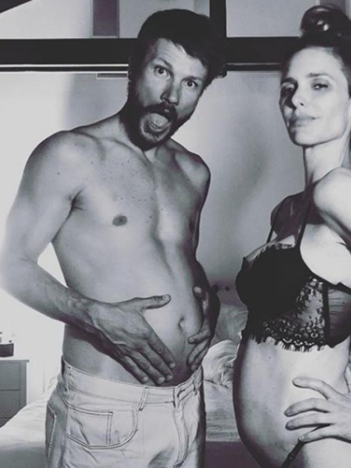 Rodrigo Hilbert e Fernanda Lima serão pais de uma menina