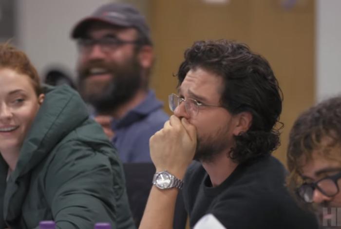 Kit Harrington, o Jon Snow, chora na primeira leitura dos últimos roteiros de 'Game of Thrones'