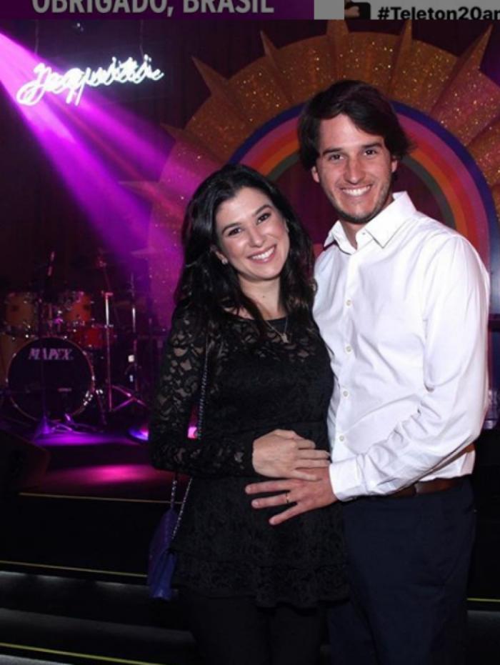 Renata Abravanel, filha de Silvio Santos, faz chá revelação do segundo filho