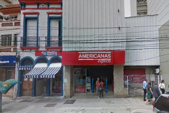 Filial da Lojas Americanas é assaltada em Botafogo