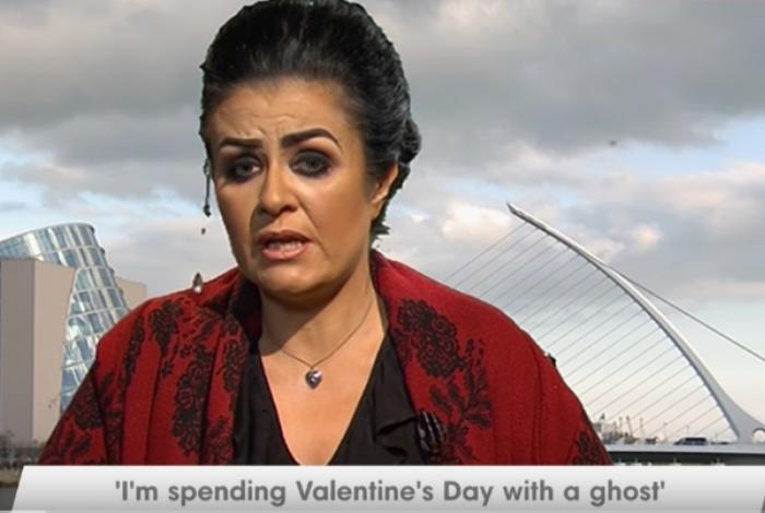 Amanda Teague diz que o fantasma com quem se casou tentou matá-la
