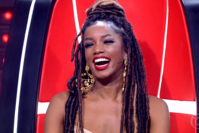 Iza estreia como jurada no 'The Voice Brasil'