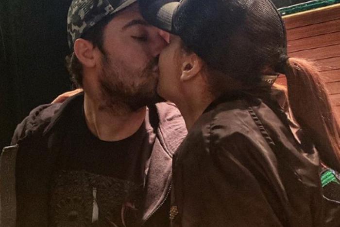 Fernando e Maiara reataram o namoro há alguns dias