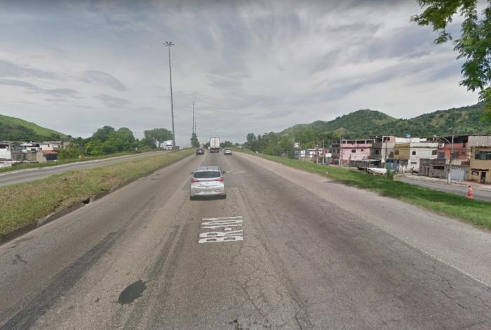 O crime aconteceu na Avenida Brasil, próximo a Bangu
