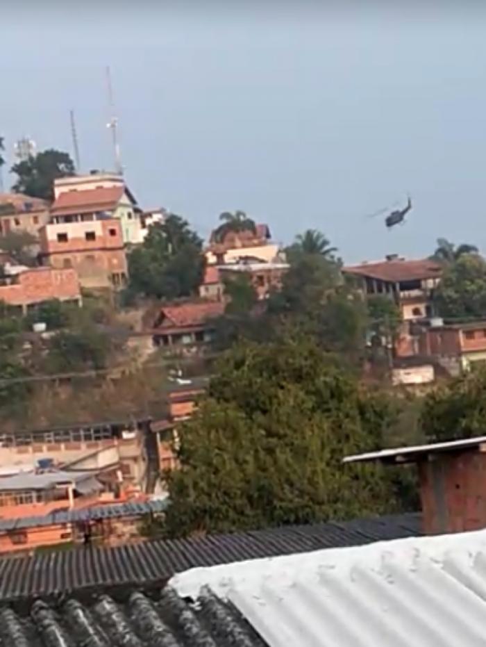 Militares do Grupamento Aeromóvel (GAM) atuam em toda região