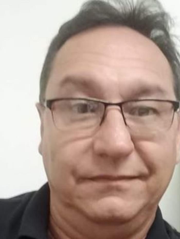 Francisco José Leitão, de 56 anos, é motorista de aplicativo e estava desaparecido após sair ara trabalhar