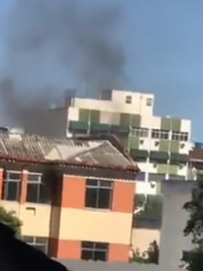 Incêndio em prédio da Zona Norte do Rio