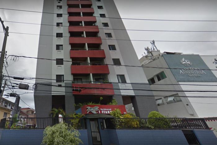 Edificio Tyffany, em Santos, pertence à Marinha e abriga a militares que servem na Capitania dos Portos