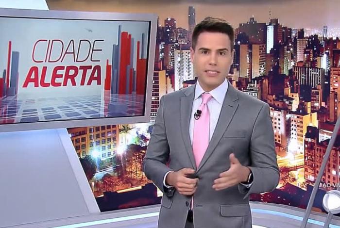 Luiz Bacci é o apresentador do 'Cidade Alerta'