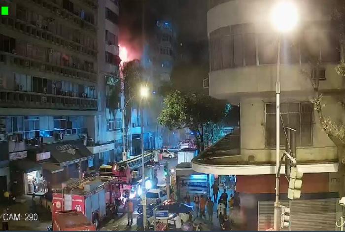 Incêndio em Copacabana