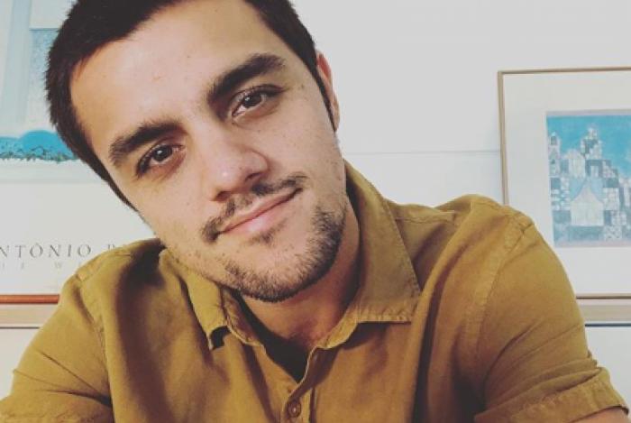 Felipe Simas, curado do coronavírus