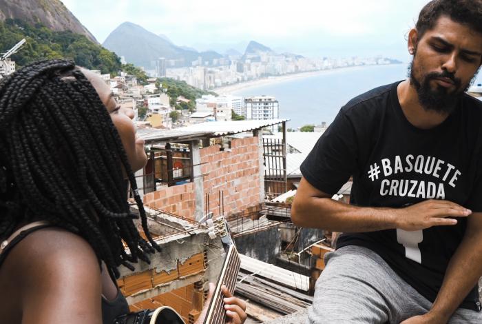 Clipe 'CARTA, é pra você cria' foi gravado no Vidigal, Zona Sul do Rio