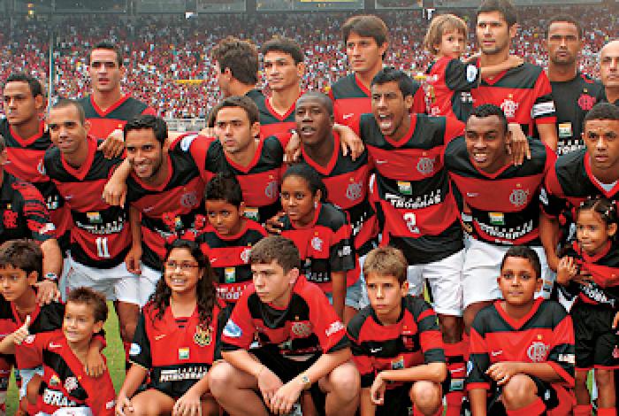 Cristian conquistou o Campeonato Carioca de 2008 pelo Flamengo