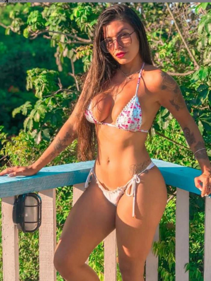 Marhy Gomes é torcedora do Fluminense