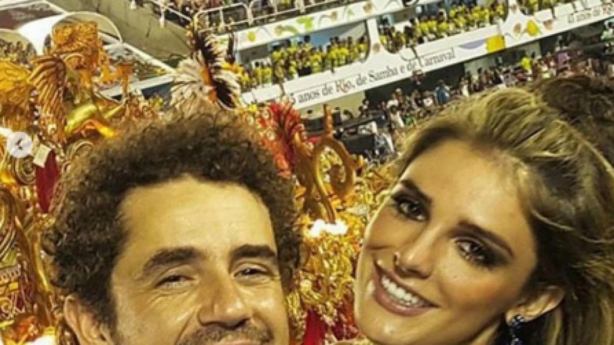 Rafa Brites e o marido Felipe Andreoli