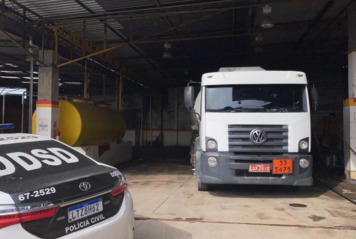 Local era realizado para a prática dos furtos de combustível