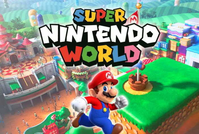 Nintendo está prestes a inaugurar seu parque temático