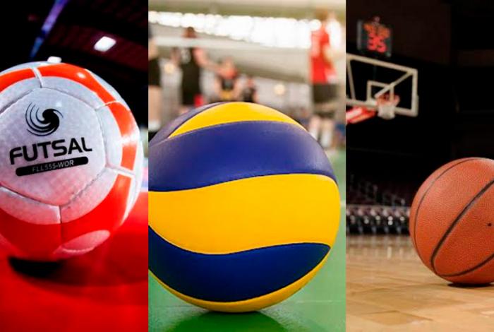 As Escolas de Futsal, de Vôlei e de Basquete, serão ampliadas e distribuídas em várias localidades, beneficiando mais alunos que poderão escolher agora a sua modalidade preferida