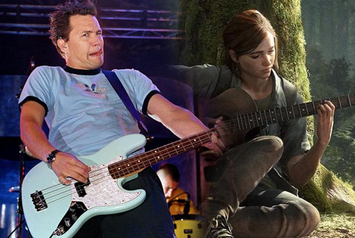 Baixista do Blink 182 toca sua própria música em The Last of Us Part 2