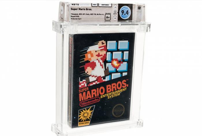 Antigo cartucho de Super Mario Bros. é vendido por mais de 600 mil reais