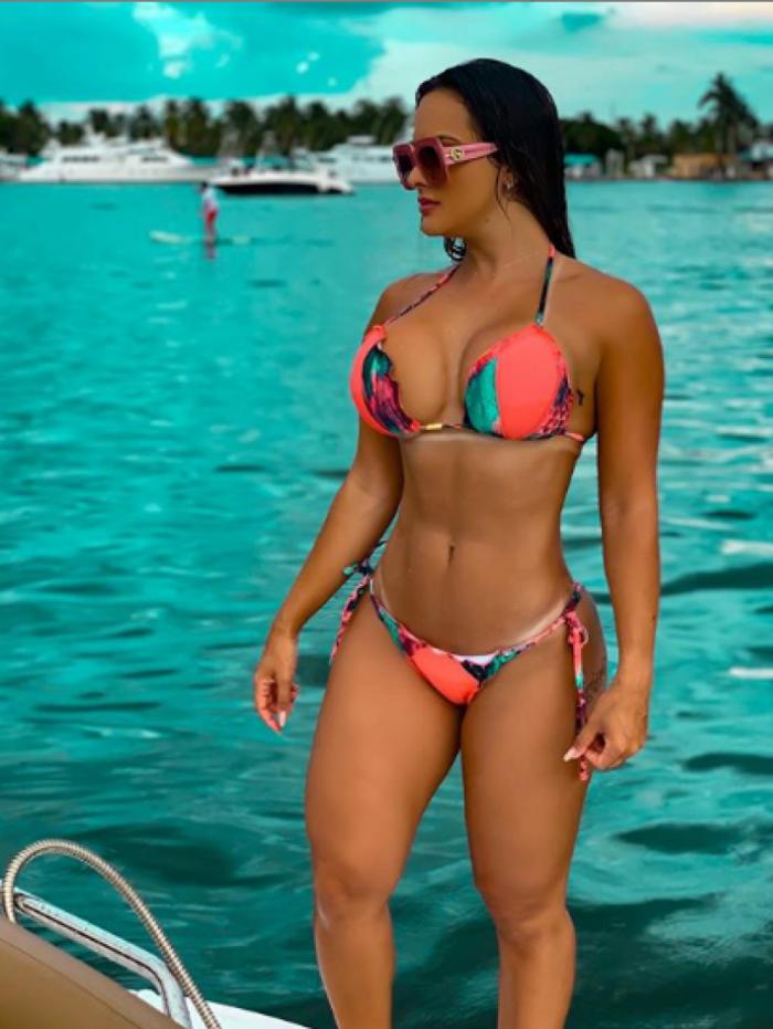 Maira Reis é torcedora do Grêmio