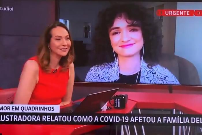 Vídeo: Maria Beltrão se emociona com história de neta que perdeu a avó para a Covid-19