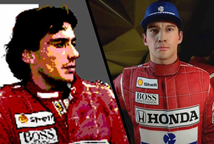 Conheça os jogos estrelados por Senna e suas curiosidades