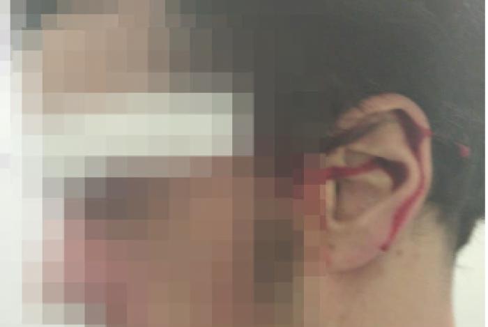 Médico relata agressão