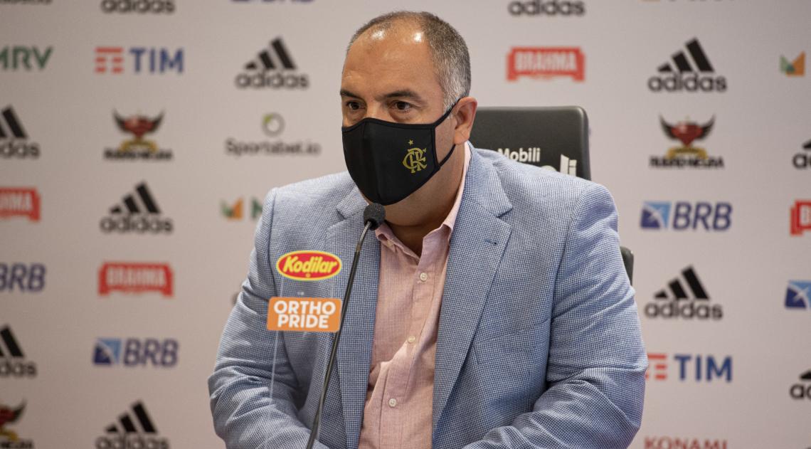 Marcos Braz toma posse como Vereador e não vê conflito de interesses por cargo no Flamengo