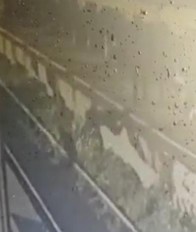 Mulher morre após ser atropelada por trem durante uma tentativa de assalto em Bangu, na Zona Oeste